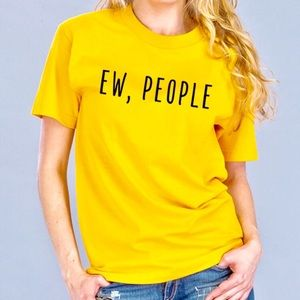 Tops - EW, PEOPLE Graphic Crew TShirt